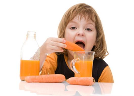 Vegetables are necessary for the development of children.