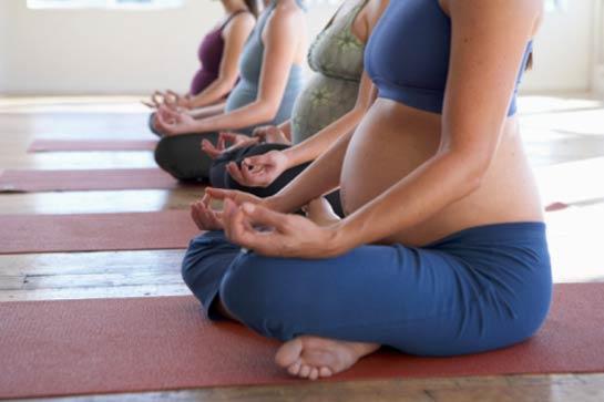 Take a prenatal yoga course