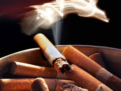 Tobacco can damage the ovary.