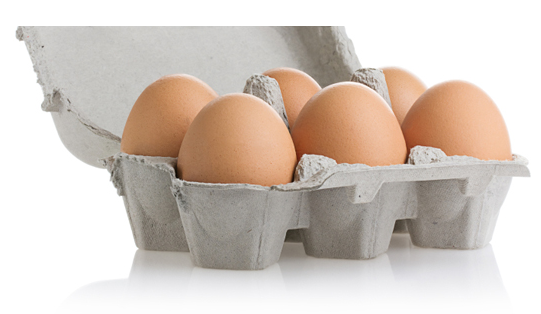 The area of arterial plaque will be about 125-129 mm2 if you eat 2 eggs per week.
