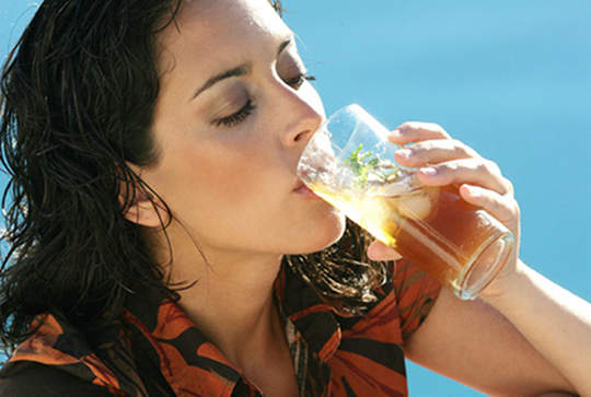 Drinking too much ice tea will be harmful your health.