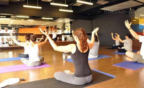Many women practice yoga to beautify their body.