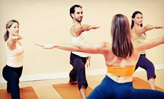 You should follow instructor when you practice yoga.