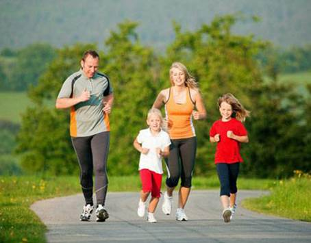 Regular physical activity will also bring similar benefits to children.