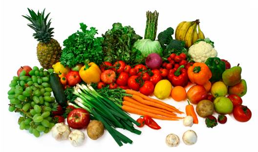 Description: Green vegetables and fruits can reduce the risk of kinds of cancer.