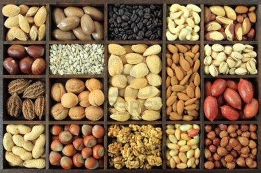 Description: Peanut, corn, millet… are useful for brain.