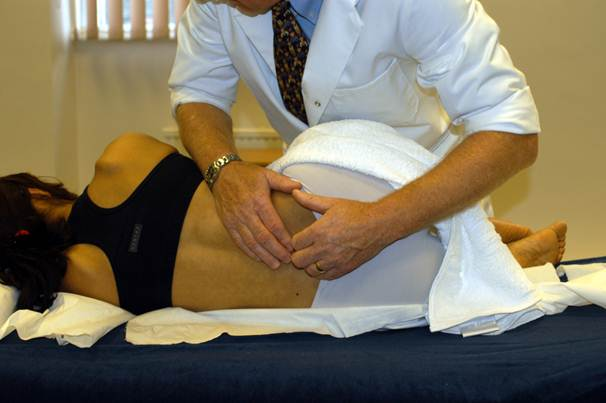 Description: An osteopath has a positive influence on food digestion and elimination of waste