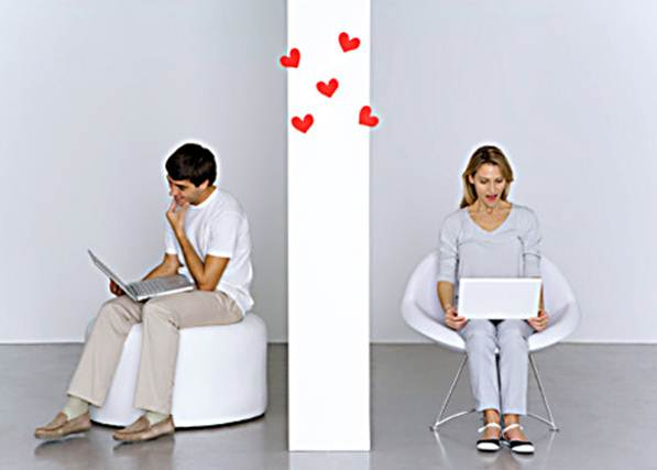 Description: Online dating is now the third most common way couples meet, with 30 to 40 percent of singletons logging in to some 1,500 services.