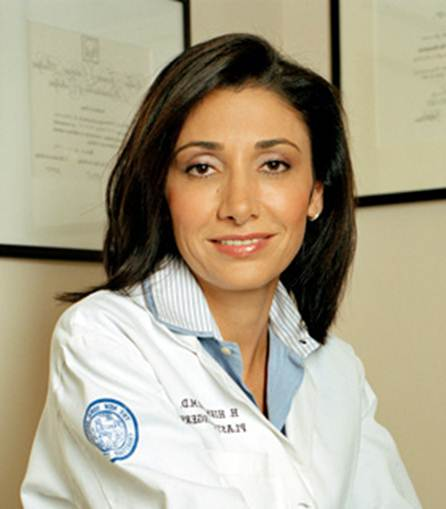 Description: At the consultation, the office of Haideh Hirmand, MD, was so immaculate and speckless they could have performed open-heart surgery on me on the bathroom floor.