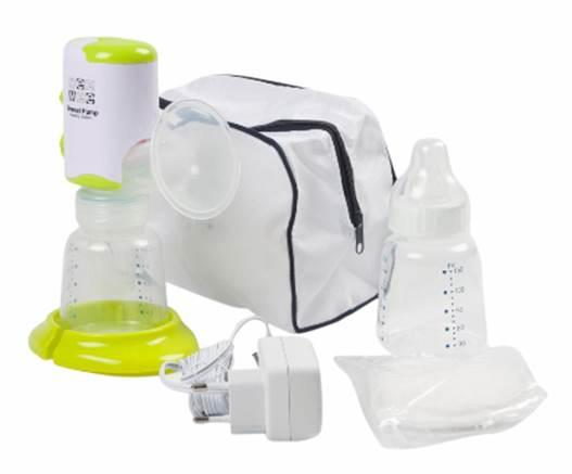 Breast Pump And Feeding Bottle