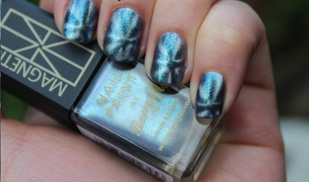 Barry M's Neptune Sea Magnetic Nail Effects Polish