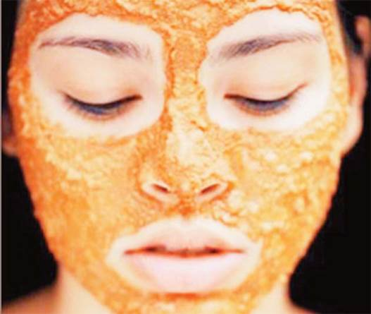 The natural acids in papaya help to remove dead skin cells, nourish the skin, make skin smooth and younger.