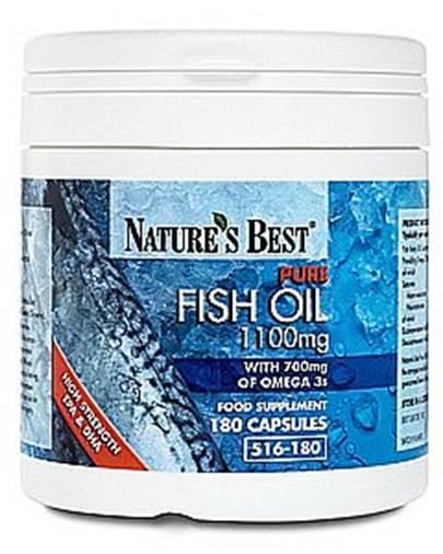 Nature's Best Fish Oil ($23 for 180 capsules; naturesbest.co.uk).