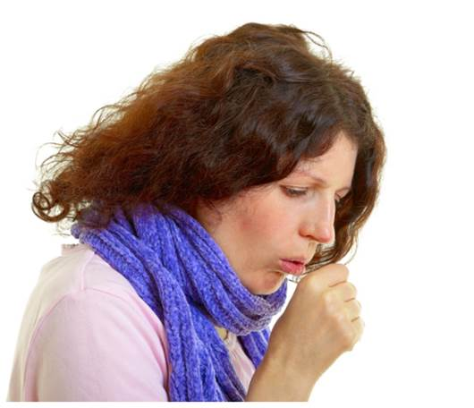 Cough occurs most when strange object appears in the respiratory area.