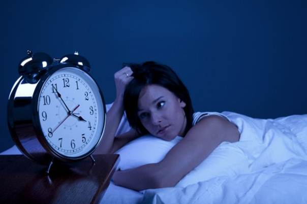 Description: Regular night waking can be a sign of depression