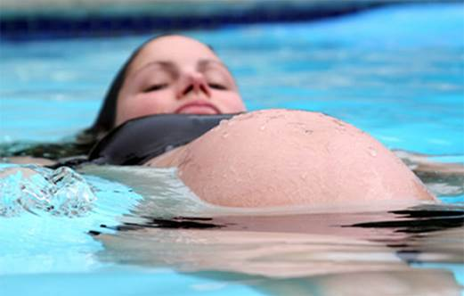 Swimming will make your body resistant and reduce backache in pregnancy.