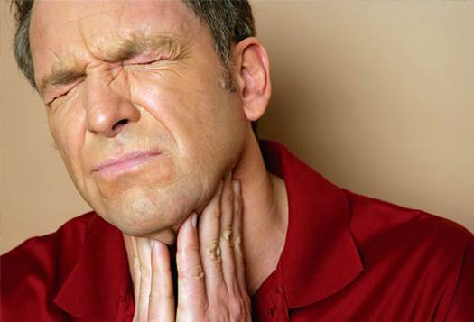 Painful swallow may also be symptom of stomatalgia