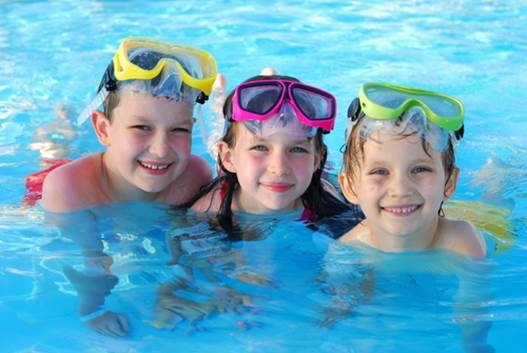 Protect your eyes in swimming season