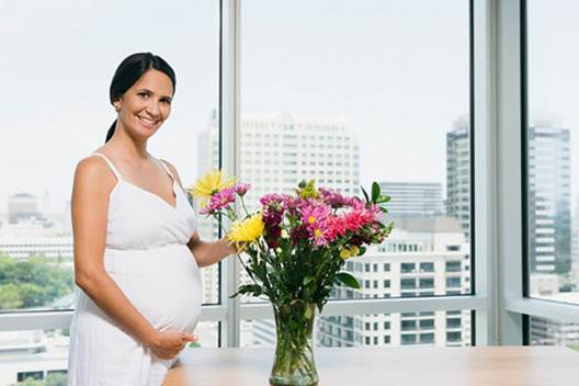 Pregnant women should stay away too strong floral scent.