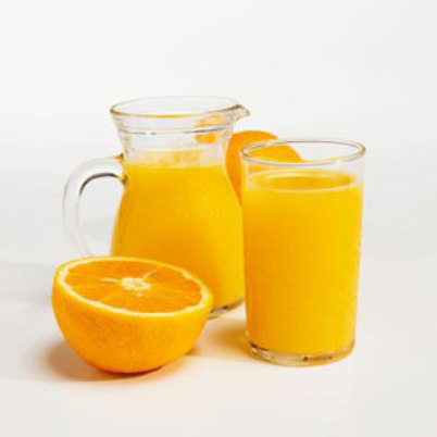Drinking orange juice to provide vitamin C also helps reduce the unpleasant feeling in your mouth.