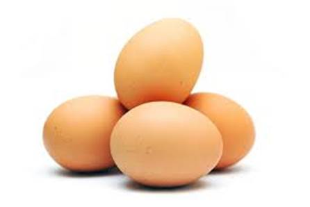 Egg is the food belonging to the list of foods that can cause allergy.