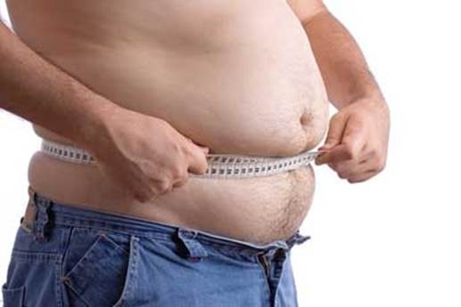 Description: The clearest symptom is obesity around the abdominal area.