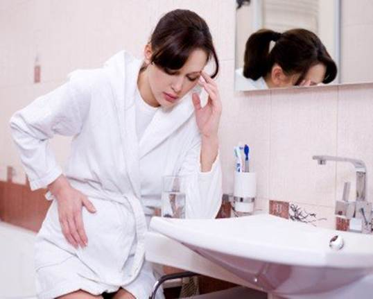 Description: The first hours of the day can be the most difficult time for a pregnant woman who gets morning sickness