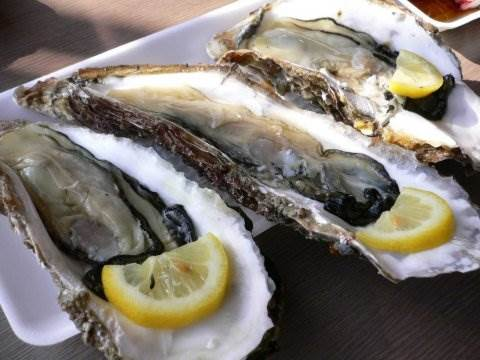 Description: Oyster is rich in zinc, which will increase testosterone and the production of sperm in men.