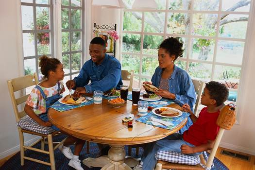 Description: Require every member to present at the eating table at least 4 times a week.