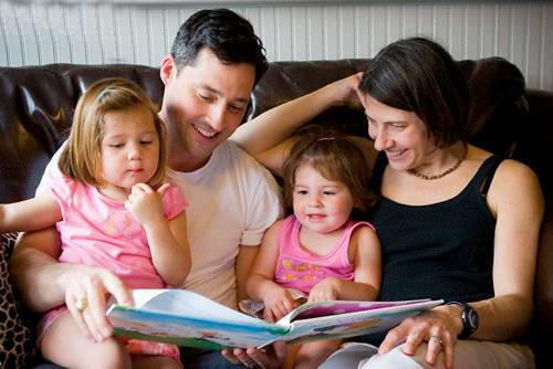 Description: Read books together regularly