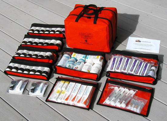 Description: A medical kit is a must.
