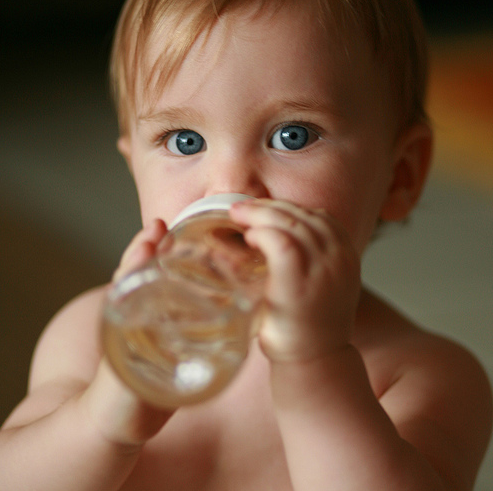 Description: A child needs enough water to keep fluid in the intestine to prevent and treat constipation.