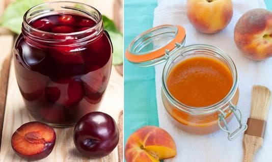 Description: Plum and peach juice