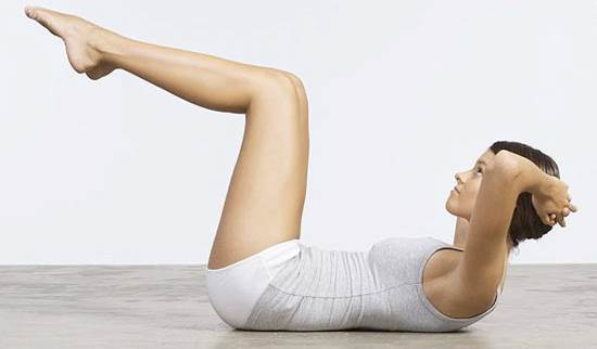 Description: Reduce belly fat by having stomach exercises.