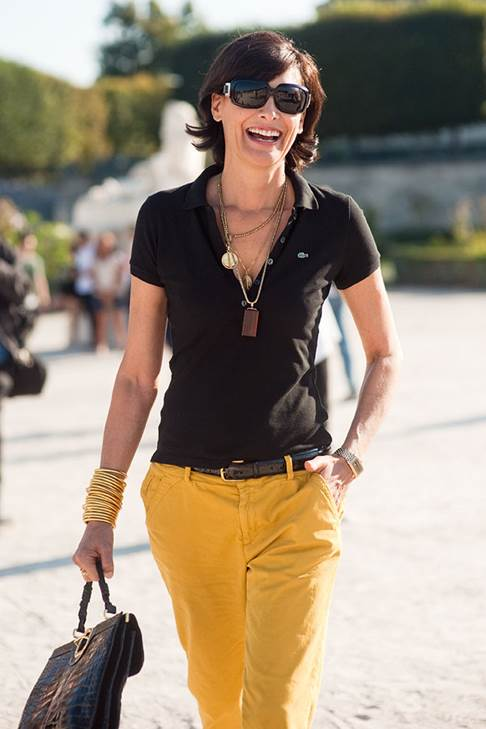 French Style Icon Ines de la Fressange Speaks on Her