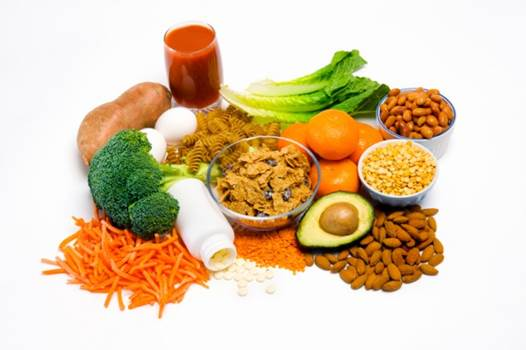 Description: Eating much of fortified cereal and bread, lentils, leafy dark-green vegetables and orange juice helps increase your nutrition.