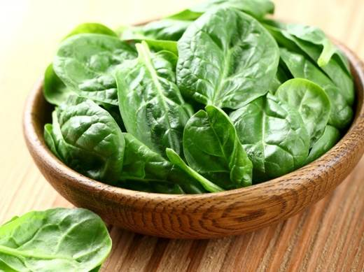 Description: Spinach is one of the richest sources of iron.