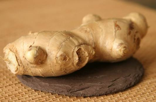 Description: You can store ginger in the fridge for convenience.