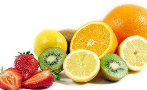 Description: Vitamin C is found in oranges.