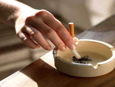 Description: Smoking cigarette can cause lung cancer and premature birth problems to pregnant women.