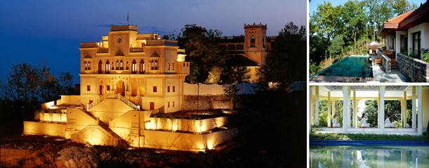 Description: Ananda Spa Resort India has been rated as the best spa in the whole world