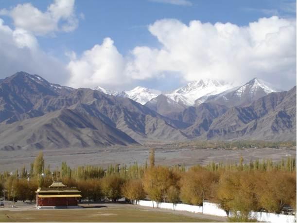 Description: Ladakh is known as India's Little Tibet