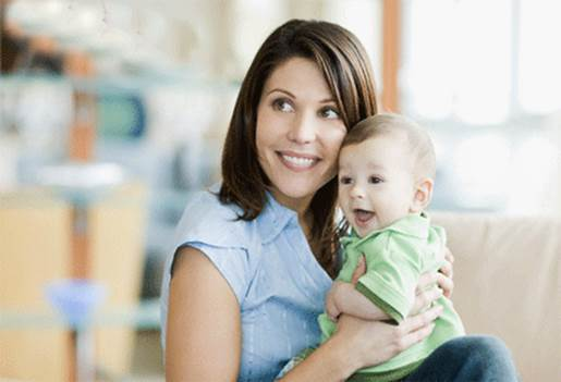 Description: According to experts, you should breastfeed until your baby is at least 6 months old