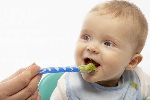 Description: Weaning the baby will probably take several months