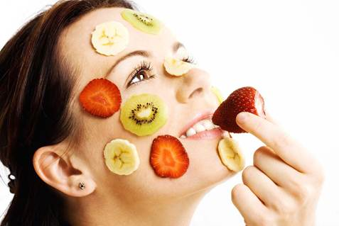 Description: Nutrition and Vitamins for Skin Beauty