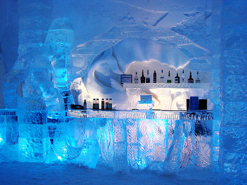 Description: The ice hotel