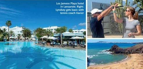 Description: Los Jameos Playa hotel in Lanzarote