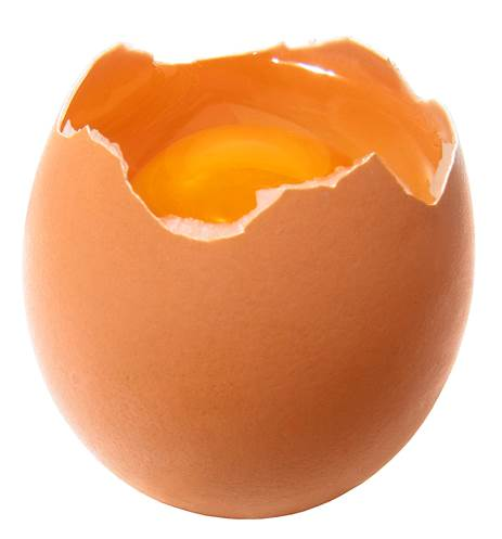 Eggs easily have bacterial contamination, even when they aren't broken.
