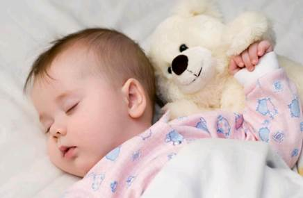 You should let children sleep by themselves without holding and lulling them.