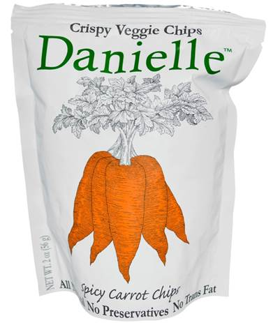 Danielle Spicy Carrot Chips